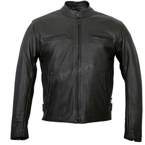 USA Made Premium Leather Racer Jacket