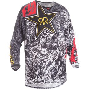 Fly Racing Rockstar Kinetic Mesh Jersey - 371-329M