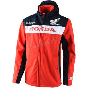 Troy Lee Designs Red Honda Tech Jacket - 726515435