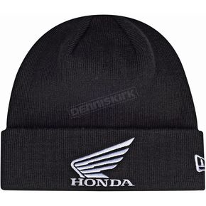 Troy Lee Designs Black Honda Beanie - 715515210