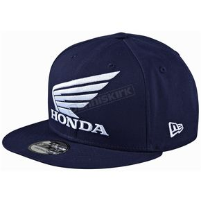 Troy Lee Designs Navy Honda Snapback Hat - 712517310