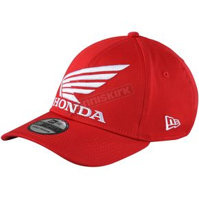 Troy Lee Designs Red Honda Wing Hat - 739515411