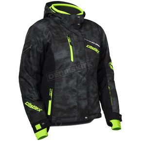 Castle X Women's Alpha Black/Hi-Vis  Powder Jacket - 71-1834