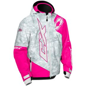 Castle X Youth Alpha Gray/Pink Glo Stance Jacket - 72-6308