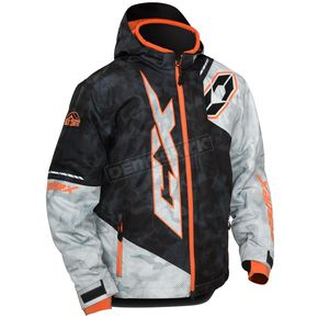 Castle X Youth Alpha Black/Orange Stance Jacket - 72-6352