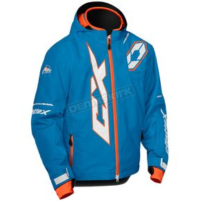 Castle X Youth Process Blue/Orange Stance Jacket - 72-6396