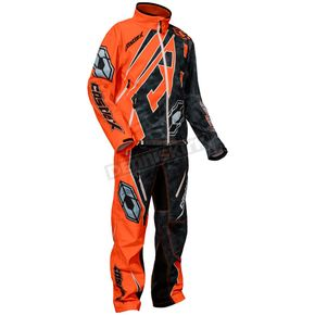 Castle X Alpha Black/Orange R18 Race Jacket - 73-8852
