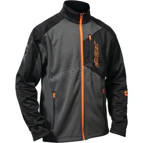 Castle X Black/Gray/Orange Fusion G2 Mid-Layer Jacket - 78-1359T