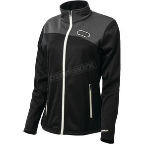 Castle X Women's Black/White Fusion G2 Mid-Layer Jacket - 78-2206