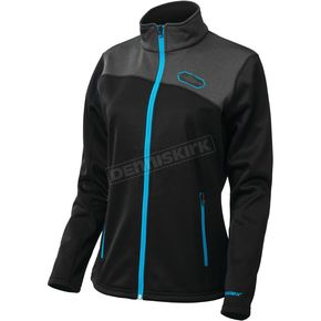 Castle X Women's Black/Process Blue Fusion G2 Mid-Layer Jacket - 78-2228