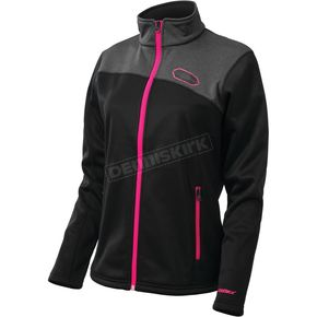 Castle X Women's Black/Magenta Fusion G2 Mid-Layer Jacket - 78-2289