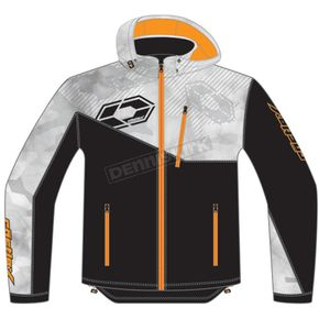 Castle X Alpha Gray/Black/Orange Barrier G2 Tri-Lam Jacket - 78-3054