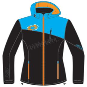 Castle X Women's Black/Blue/Orange Barrier G2 Tri-Lam Jacket - 78-4026