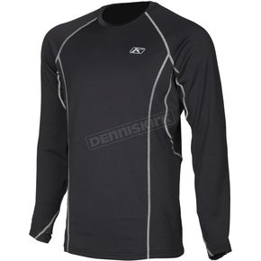 Klim Black Aggressor 2.0 Base Layer Shirt - 3198-002-140-000
