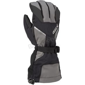 Klim Black/Dark Gray Klimate Gloves - 3239-003-160-660