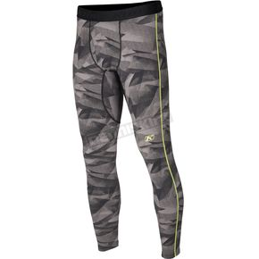 Klim Camo Gray Aggressor 3.0 Base Layer Pants - 3286-002-140-600
