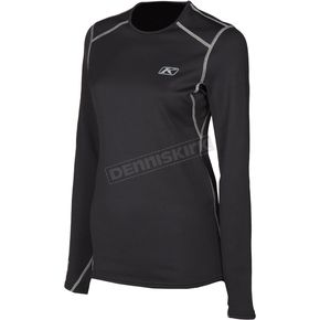 Klim Women's Black Solstice 3.0 Shirt - 3287-002-130-000
