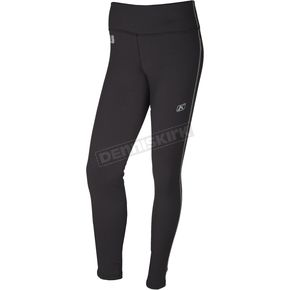 Klim Women's Black Solstice 3.0 Base Layer Pants - 3288-002-160-000
