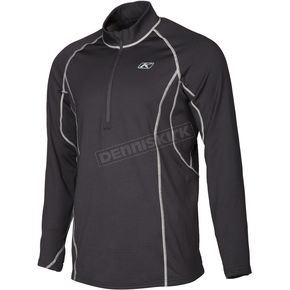 Klim Black Aggressor 3.0 1/4 Zip Shirt - 3293-002-170-000