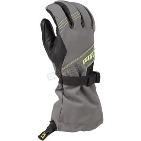 Klim Gray/Hi-Vis Sawtelle Gloves - 3334-000-130-500