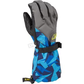 Klim Camo Blue Togwotee Gloves - 3337-004-130-320