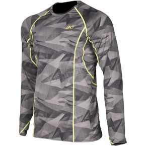 Klim Camo Gray Aggressor 1.0 Base Layer Shirt - 3356-006-130-600
