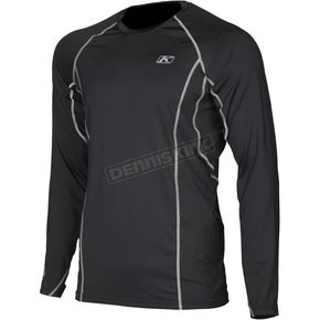 Klim Black Aggressor 1.0 Base Layer Shirt - 3356-006-170-000