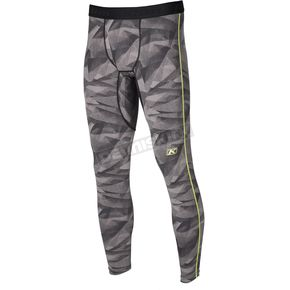 Klim Gray Camo Aggressor 1.0 Base Layer Pants - 3357-006-140-600