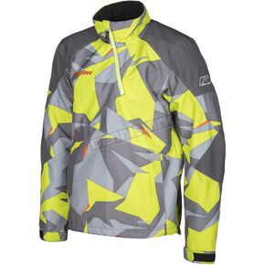 Klim Camo Gray/Green Powerxross Pullover Jacket - 3572-007-160-360