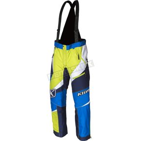 Klim Blue/Green Kaos Pants-Bibs - 3804-000-170-200