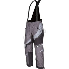 Klim Gray/Black Kaos Pants-Bibs - 3804-000-130-600