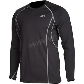 Klim Black Aggressor 3.0 Base Layer Shirt - 3861-000-160-000