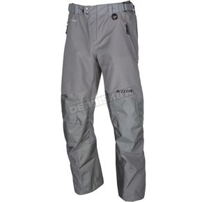 Klim Gray Powerhawk Pants-Bibs - 3903-000-130-600
