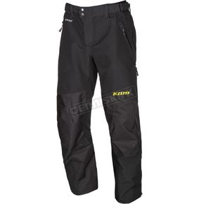 Klim Black Powerhawk Pants-Bibs - 3903-000-130-000