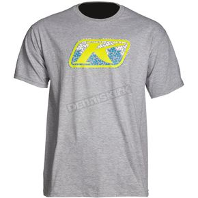 Klim Gray Razor Graphic T-Shirt - 3947-000-150-630