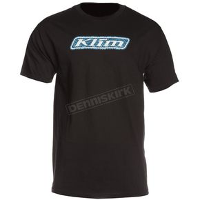 Klim Black Line Art Graphic T-Shirt - 3963-000-160-000