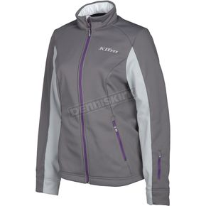 Klim Women's Dark Gray Whistler Jacket - 4023-002-160-660