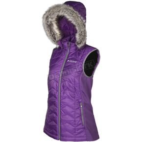 Klim Women's Purple Arise Vest - 4083-001-140-790