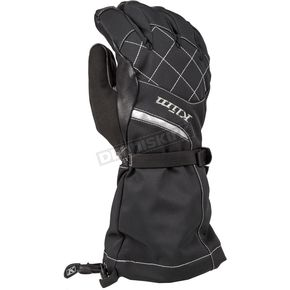 Klim Women's Matte Black Allure Gloves - 4087-002-150-001