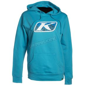Klim Women's Blue Vista Hoody - 6022-004-120-200