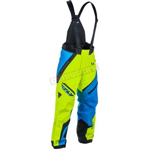 Fly Racing Blue/Hi-Vis SNX Bibs - 470-2069LT
