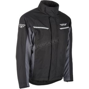 Fly Racing Black/Gray Aurora Jacket - 470-4060X