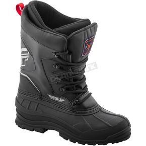 Fly Racing Black Aurora Boots - 361-95012