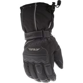 Fly Racing Black Aurora II Gloves - 363-3891L