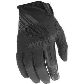 Fly Racing Black Windproof Lite Gloves - 371-14008