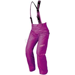 FXR Racing Women's Wineberry Fresh Pants - 180302-8500-14