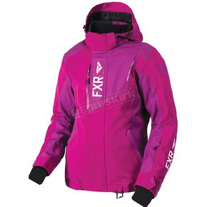 FXR Racing Women's Wineberry Renegade Jacket - 180219-8500-16