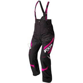 FXR Racing Women's Black/Fuchsia Team Pants - 180301-1090-12