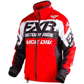FXR Racing Red/Black/White Cold Cross Race Ready Jacket - 180032-2010-16