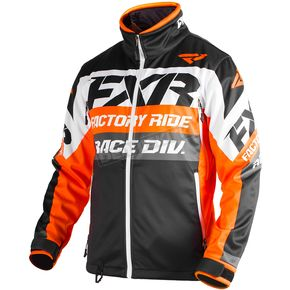 FXR Racing Orange/Black/White Cold Cross Race Ready Jacket - 180032-3010-22